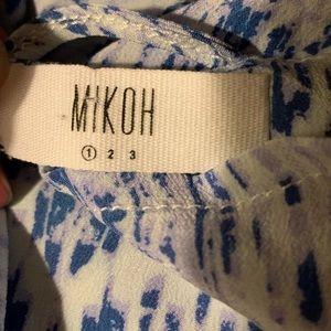 Mikoh Swim - MIKOH SILK SANDY ISLAND SWIM DRESS COVER UP